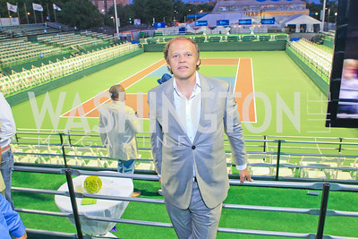 Mark Ein. Photo by Alfredo Flores. The Washington Kastles Wimbledon on the Water. Kastles Stadium at The Wharf. June 28, 2011