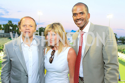 Photo by Alfredo Flores. The Washington Kastles Wimbledon on the Water. Kastles Stadium at The Wharf. June 28, 2011