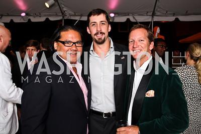 Ray Regan, Joe Robert III, Doug Barnes. Photo by Tony Powell. The Young and the Guestlist. Longview Gallery. May 20, 2011