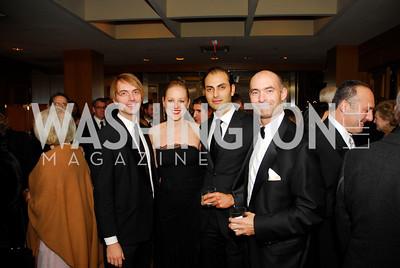 Kaushuo Bennett,Clara Brillemourg,Omar Popal,Nova DaleyOctober 28,2011,Theater Washington,Kyle Samperton