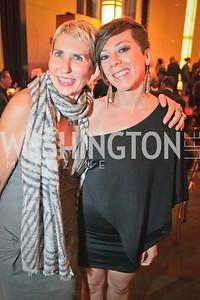 Sara Dupont, Gretchen Parlata. Thelonious Monk 25th Anniversary Celebration Sponsored by Caddilac. Kennedy Center. Photo by Alfredo Flores.jpg