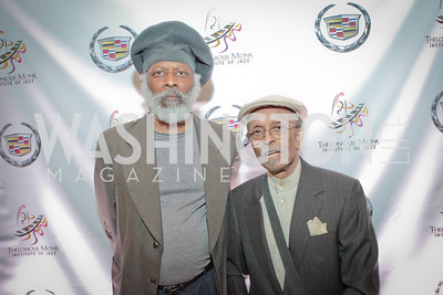 Gerald Clayton, Jimmy Heath. Thelonious Monk 25th Anniversary Celebration Sponsored by Caddilac. Kennedy Center. Photo by Alfredo Flores. September 12, 2011