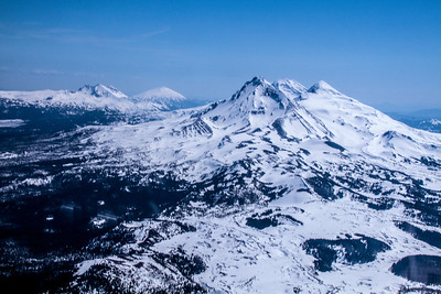 Three sisters and Mt. Bachelor