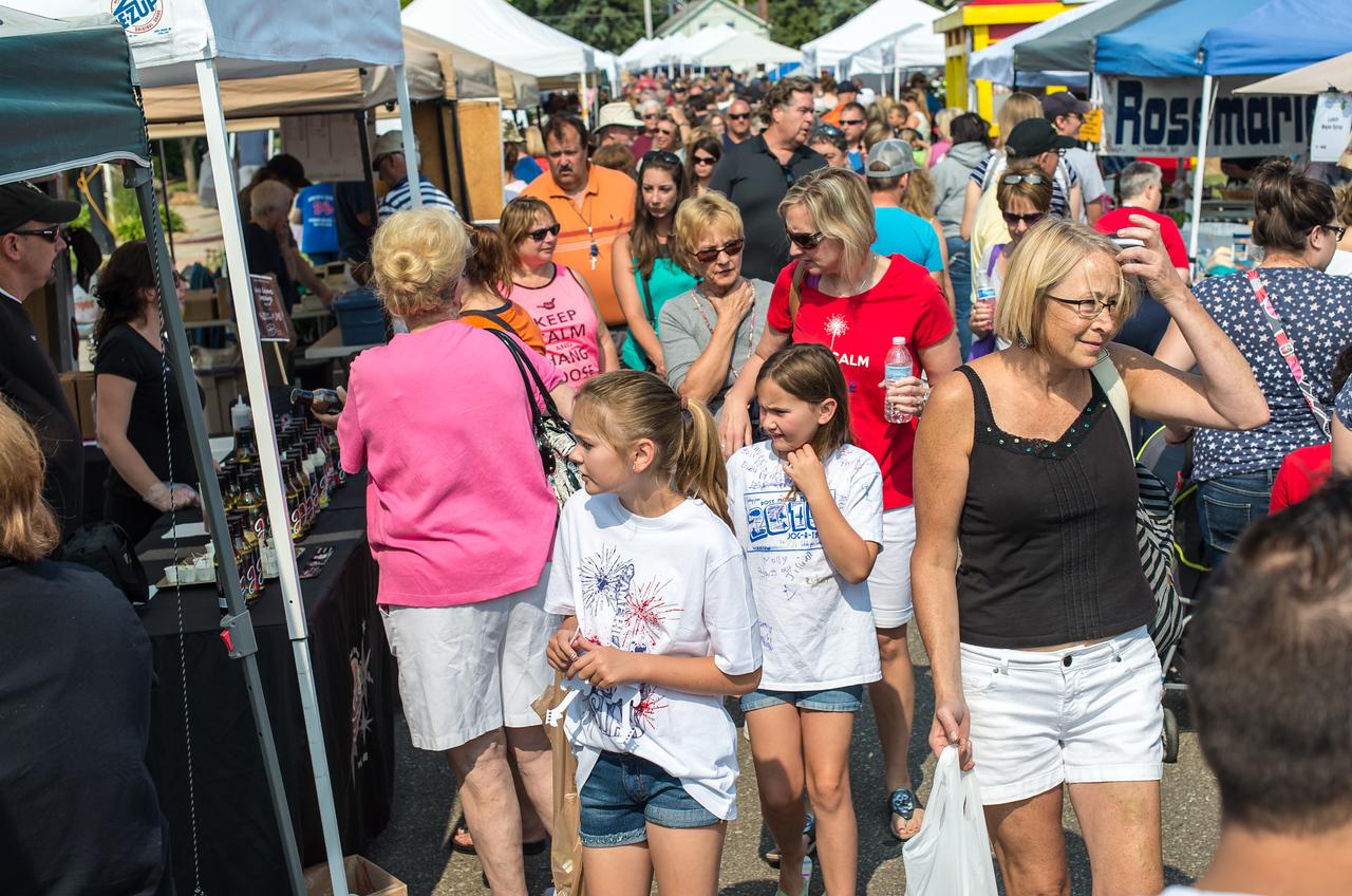 Port Austin Farmer's Market, July 2015