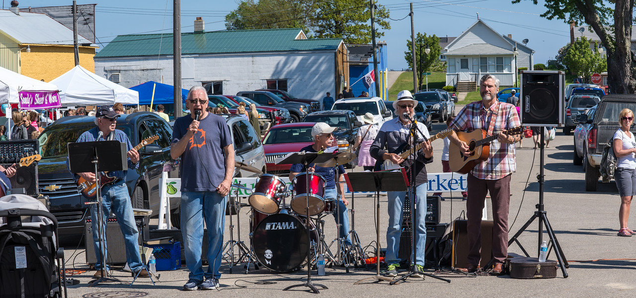 Springstreet Boys at Port Austin Farmer's Market - May 2017