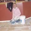 Travertine tile project