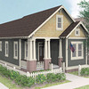 The Declyn plan by Allison Ramsey Architects built at Tollgate. This plan is 1442 Heated Square Feet, 3 Bedrooms & 3 Bathrooms.