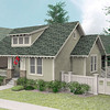 The Chesapeake plan by Allison Ramsey Architects built at Tollgate. This plan is 2438 Heated Square Feet, 3 Bedrooms & 2 Bathrooms.