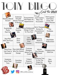 Tony Bingo 2017