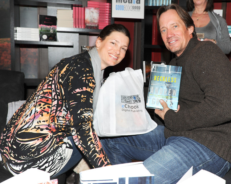 PARK CITY, UTAH - JANUARY 22: Kevin Sorbo and wife Sam Jenkins  Attends the TR Suites at the Gateway Center on January 22, 2011 in Park City, Utah. (Photo by Joseph Bellantoni/ In House Image)