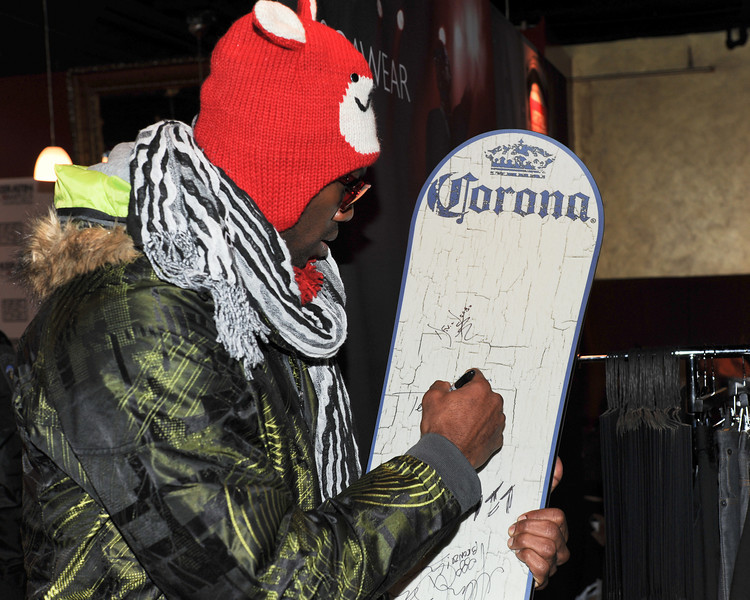 PARK CITY, UTAH - JANUARY 22: Terrell Owens  Attends the TR Suites at the Gateway Center on January 22, 2011 in Park City, Utah. (Photo by Joseph Bellantoni/ In House Image)