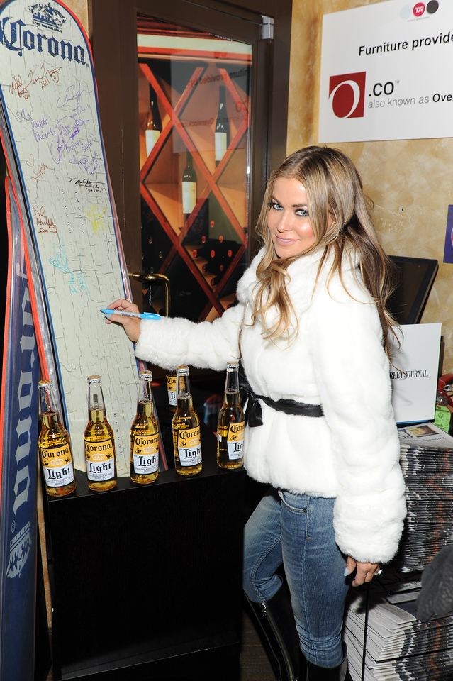 PARK CITY, UTAH - JANUARY 22: Carmen Electra Attends the TR Suites at the Gateway Center on January 22, 2011 in Park City, Utah. (Photo by Joseph Bellantoni/ In House Image)