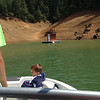Cameron had to go potty. Fortunately all of our local lakes have well placed floating toilets.