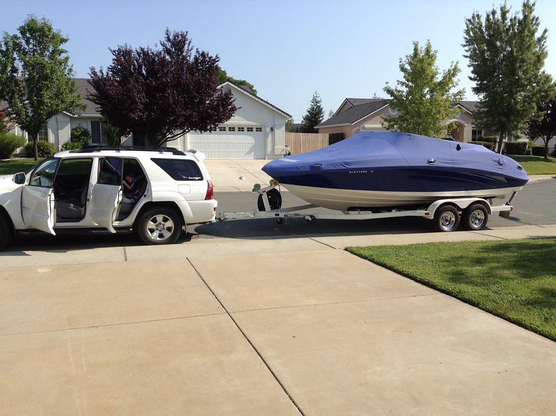 Almost ready for a day of boating.