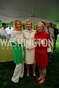 Liz Roberts,Liz Dougherty,Beth Collins,Tudor Place Garden Party,May 3,2011,Kyle Samperton