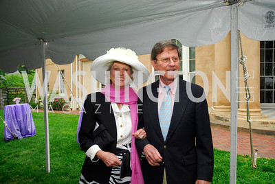 Christine Griffin,George Griffin,Tudor Place Garden Party,May 3,2011,Kyle Samperton