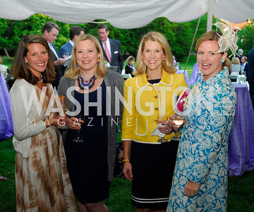 Elizabeth Powell,Sally Steponkus,Blair Bourne,Sassy Jacobs,Tudor Place Garden Party,May 3,2011,Kyle Samperton