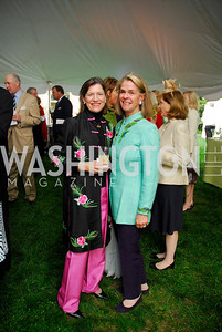 Mary Bartlett,Sheila Gross,Tudor Place Garden Party,May 3,2011,Kyle Samperton