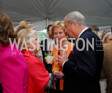 Judy Cox,Namida Brady ,Julio Heurtematte,Tudor Place Garden Party,May 3,2011,Kyle Samperton