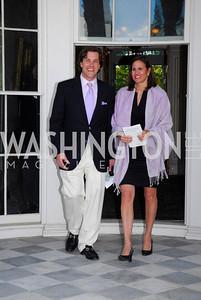 Drew White,Elizabeth Burke,Tudor Place Garden Party,May 3,2011,Kyle Samperton