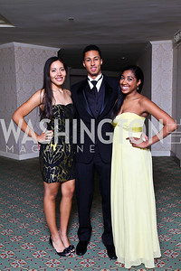 Kelsey Slaughter, Kyle Webster, Elyse Galloway. Tuxedo Ball. Photo by Tony Powell. December 30, 2010