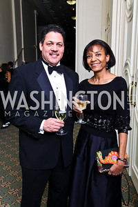 Ron Childs, Faith Mitchell-Brown. Tuxedo Ball. Photo by Tony Powell. December 30, 2010