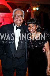 Tony and Buffy Miles. Tuxedo Ball. Photo by Tony Powell. December 30, 2010