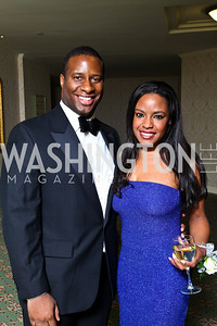 Marcus Fleming, Talhia Tuck. Tuxedo Ball. Photo by Tony Powell. December 30, 2010
