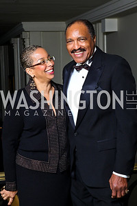 Shireen Dodson, Allen Arthur. Tuxedo Ball. Photo by Tony Powell. December 30, 2010