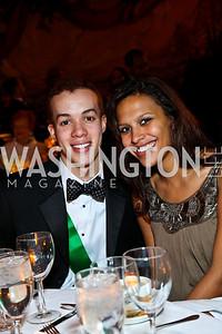Clayton Childs, Christina Campbell. Tuxedo Ball. Photo by Tony Powell. December 30, 2010