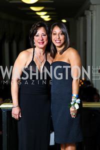 Lola Keyes and Lola Elizabeth Keyes. Tuxedo Ball. Photo by Tony Powell. December 30, 2010