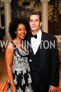 Gina and Gene Adams. Tuxedo Ball. Photo by Tony Powell. December 30, 2010