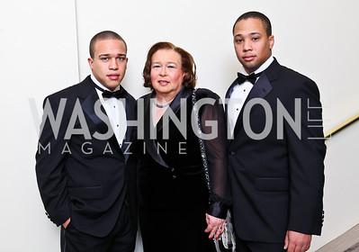 Wynton, Denise, and Max Fox. Tuxedo Ball. Photo by Tony Powell. December 30, 2010