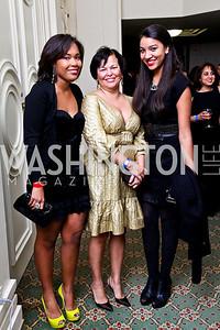 Ava Coleman, Debra Lee, Jillian Roberts. Tuxedo Ball. Photo by Tony Powell. December 30, 2010