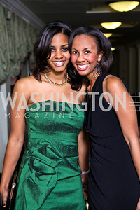 Davlyn Grant, Shannon Saunders. Tuxedo Ball. Photo by Tony Powell. December 30, 2010