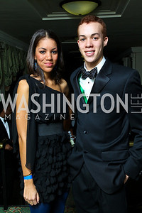 Giselle and Clayton Childs. Tuxedo Ball. Photo by Tony Powell. December 30, 2010