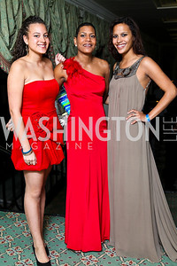 Claire and Lisa Ross, Christina Campbell. Tuxedo Ball. Photo by Tony Powell. December 30, 2010