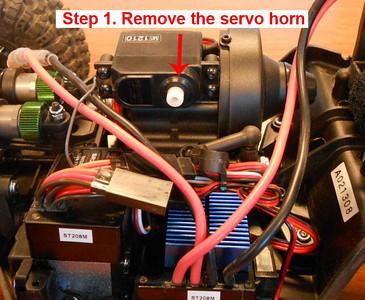 Twin Hammers Shift Servo Instructions
