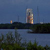 The ULA Delta IV about 20 minutes before launch. We were about 2.6 miles away from Complex 37 at the Cape Canaveral Air Force Station