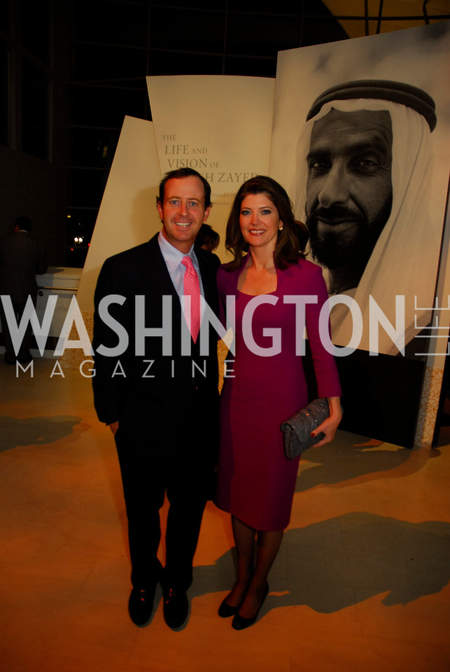 Geoff Tracy, Norah O'Donnell, December 1, 2011, United Arab Emirates National Day, Kyle Samperton