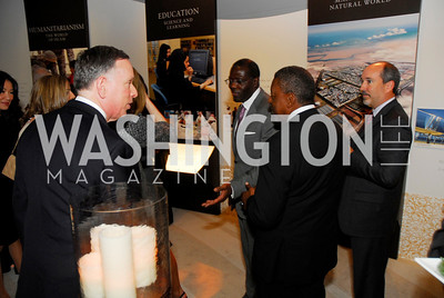 Michael Kaiser, Tony Welters, Bob Johnson, December 1, 2011, United Arab Emirates National Day, Kyle Samperton