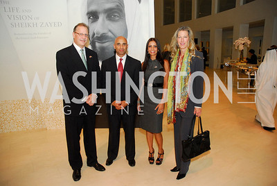 Allen Muns, Ambassador Yousef Al-Otaiba, Abeer Al-Otaiba, Majorie Adams, December 1, 2011, United Arab Emirates National Day, Kyle Samperton