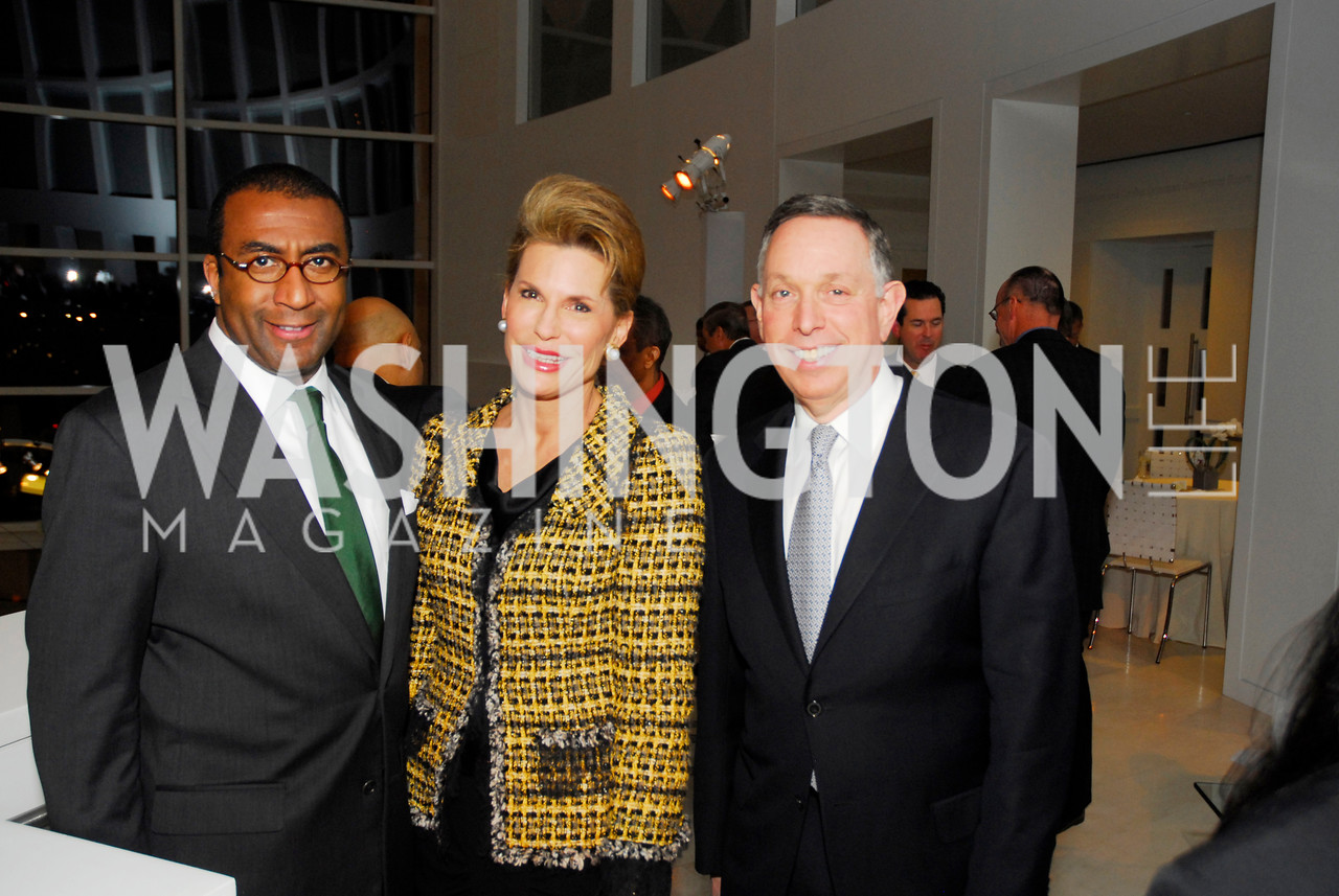 Eric Motley, Nancy Brinker, Michael Kaiser, December 1, 2011, United Arab Emirates National Day, Kyle Samperton