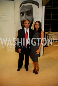 Ambassador Yousef Al-Otaiba, Abeer Al-Otaiba, December 1, 2011, United Arab Emirates National Day, Kyle Samperton
