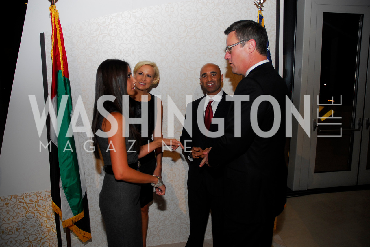 Abeer Al-Otaiba, Mika Brezinski, Ambassador Yousef Al-Otaiba, Joe Scarborough, December 1, 2011, United Arab Emirates National Day, Kyle Samperton