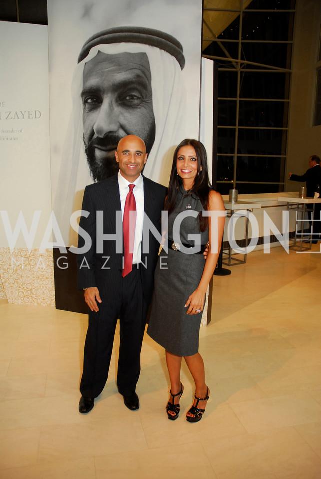 Ambassador Yousef Al-Otaiba, Abeer Al-Otaiba, December 1, 2011, United Arab Emirates National Day, Kyle Samperton