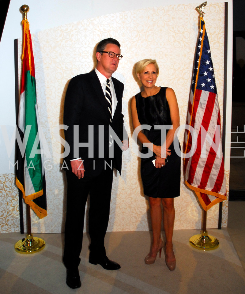 Joe Scarborough, Mika Brezinski, December 1, 2011, United Arab Emirates National Day, Kyle Samperton