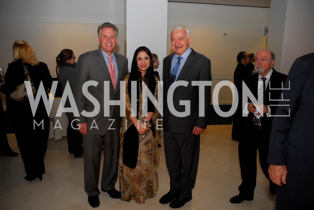 Terry McAuliffe, Dana Almarashi, Hani Masri, December 1, 2011, United Arab Emirates National Day, Kyle Samperton