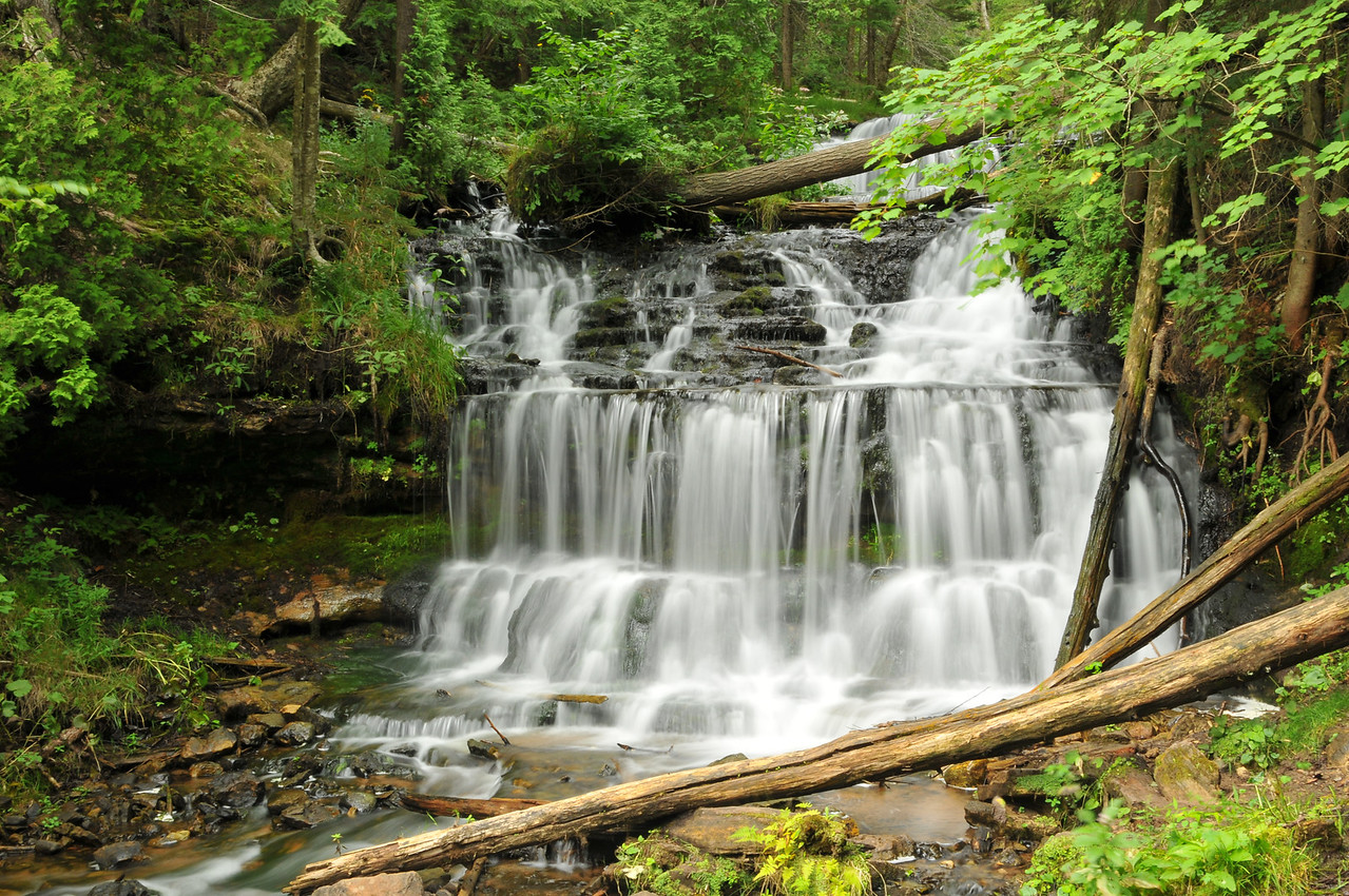 Wagner Falls, August 2012