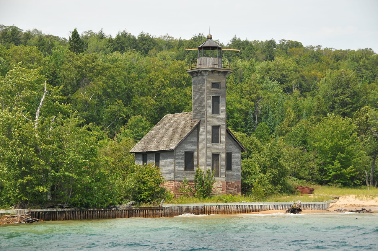 East Channel Lighthouse, Pictured Rocks National Lakeshore - August 2012